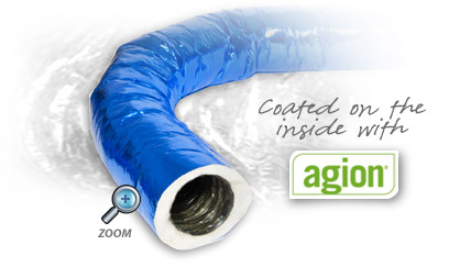 Coated inside with Agion