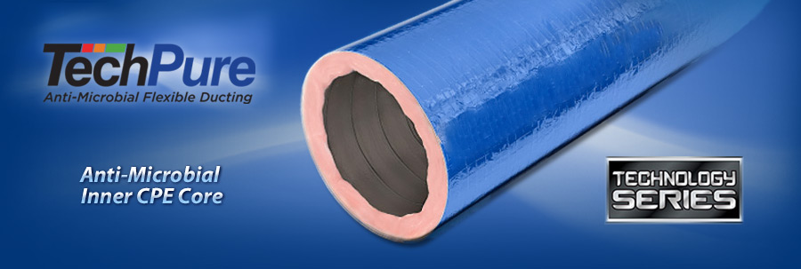 TechFlex Blue Flexible Duct